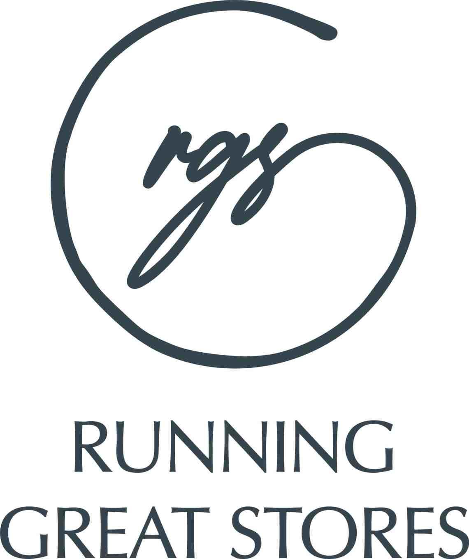 RGS Vertical Logo Dark Blue