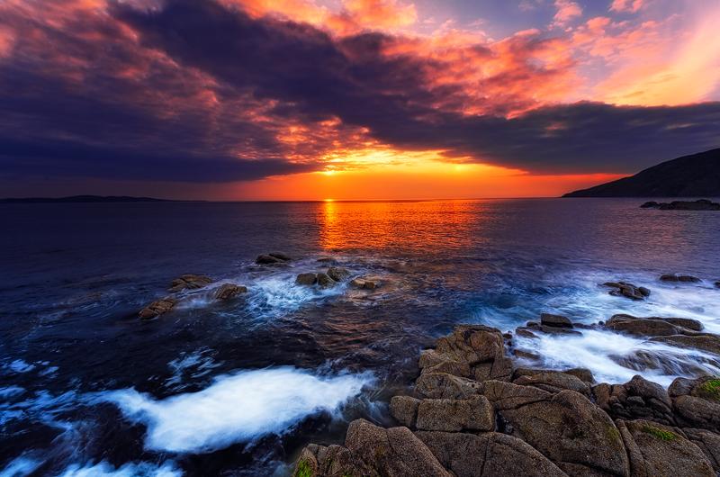 Irish Sunset, County Donegal, Ireland