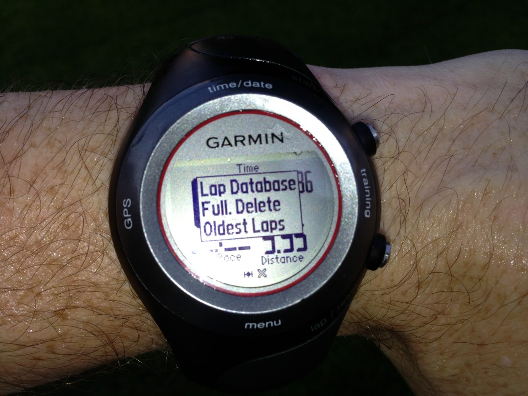 Don't Procrastinate-or you, too will experience this losing moment brought to you by Garmin!