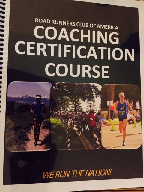 RRCA coaching certification coursebook