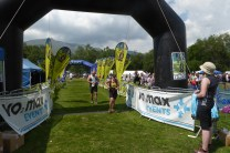 Over the finish line