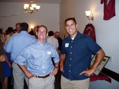 Mike Heffernan ('91), Joe Gardell ('91)