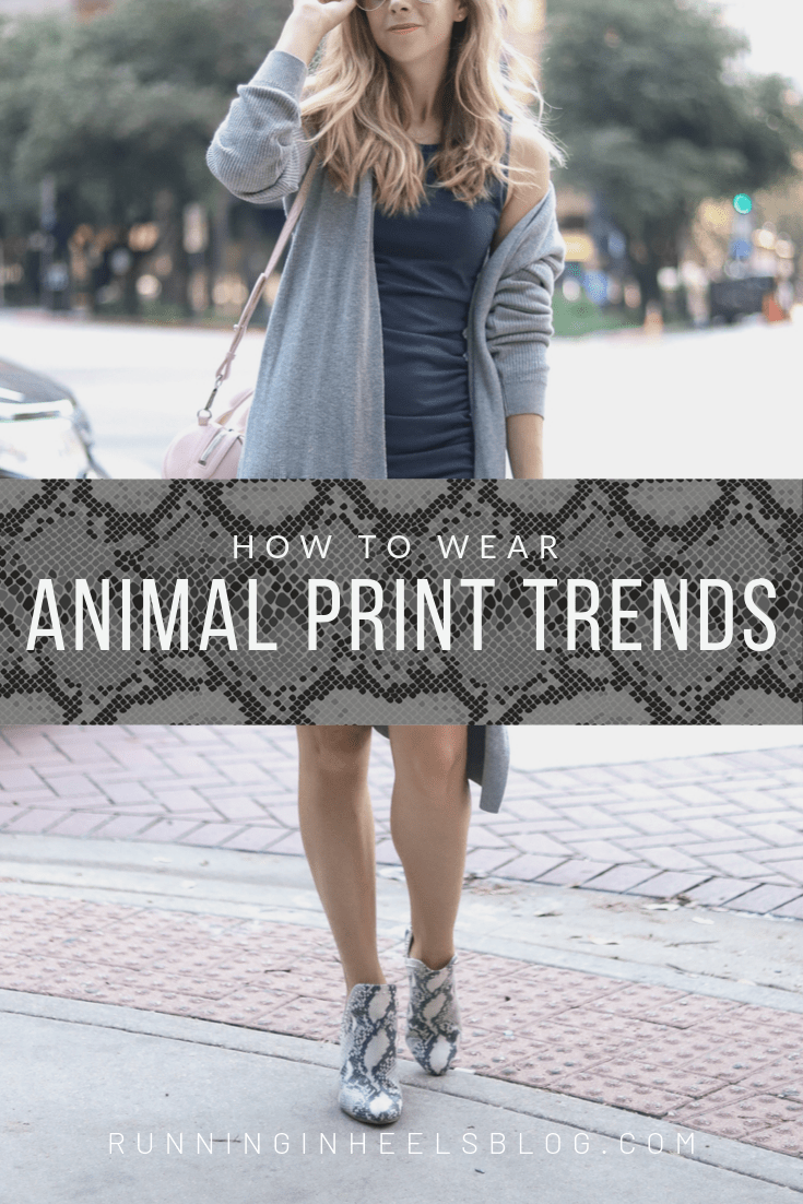 How to Wear the Animal Print Trend this Fall, styling tips featured by top US fashion blog, Running in Heels