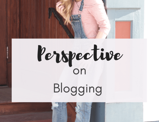 Perspective on Blogging