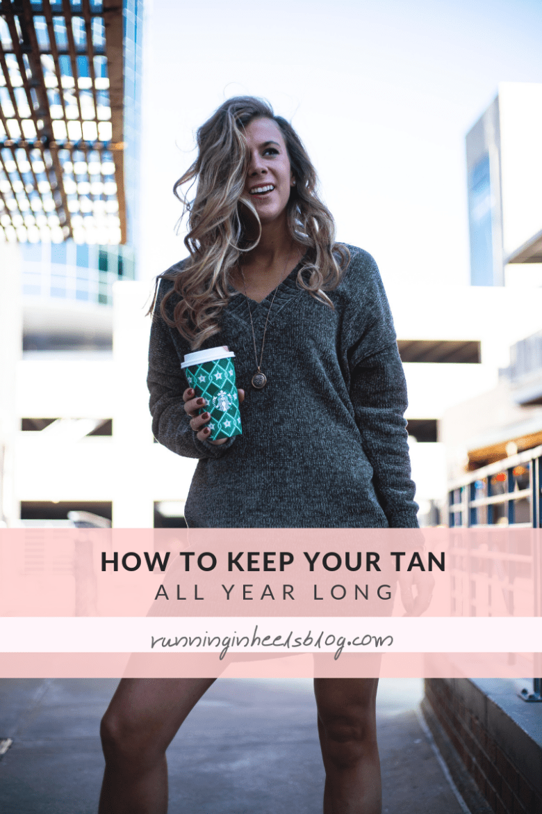 How to Keep a Tan All Year Long, tips featured by top US beauty blog, Running in Heels.