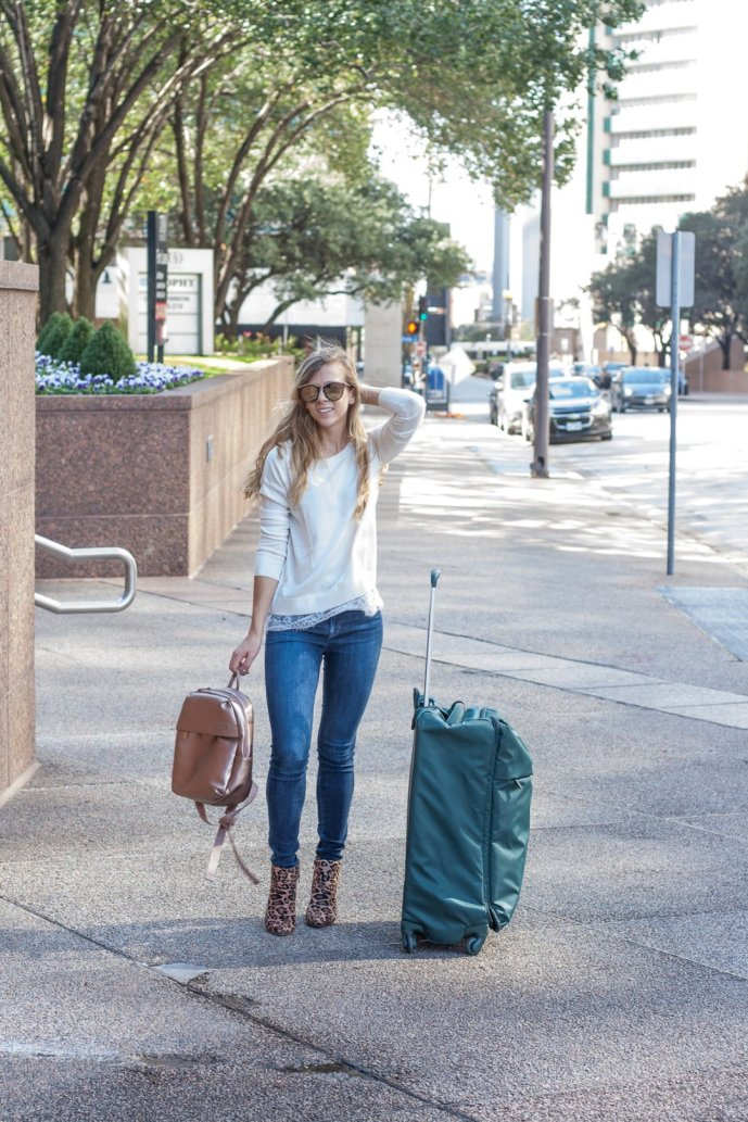 Travel in Style | Running in Heels