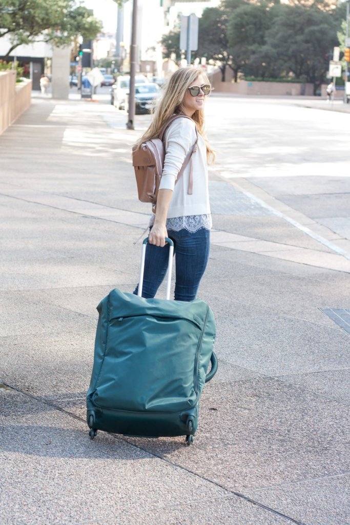 Travel in Style | Running in Heels