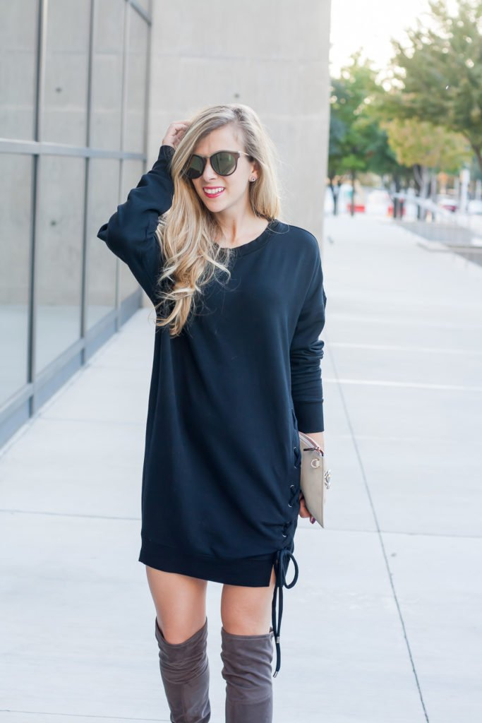 Sweatshirt Dresses for Fall
