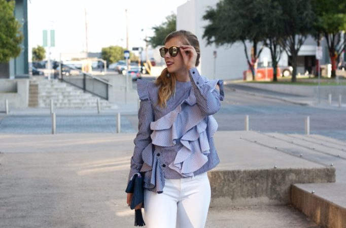 The Importance of Extra Ruffles this Fall   Running in Heels