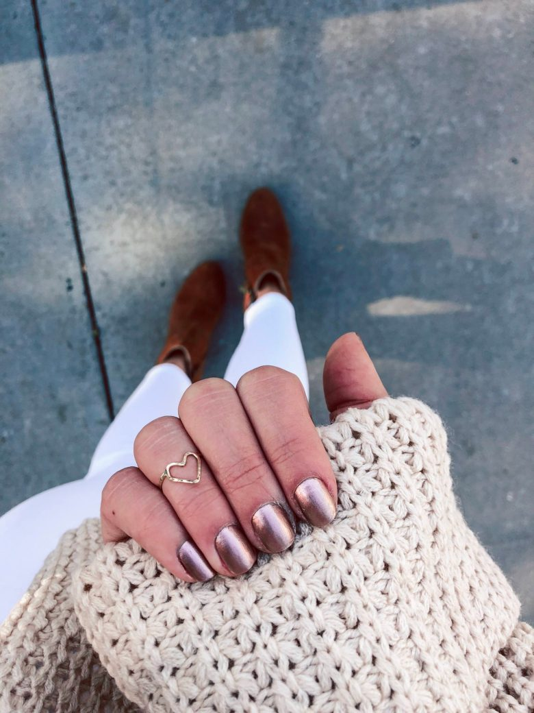 Valentine's Day Nail Art ideas featured by top Dallas life and style blog, Running in Heels.