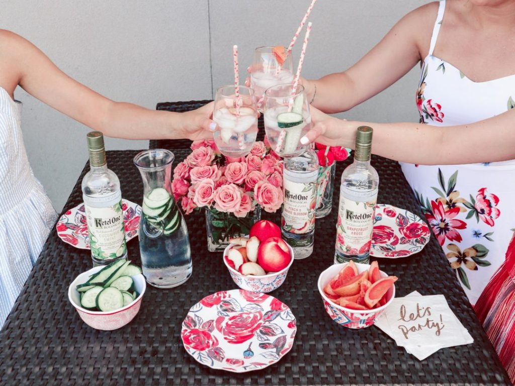 Ketel Botanical Vodka Drinks: Behind the Scenes of the Photoshoot + Giveaway