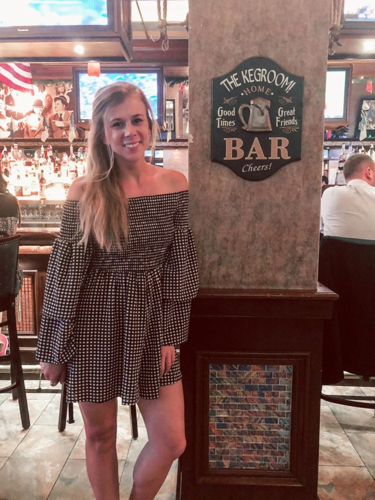 Where to eat in NYC featured by top US travel blog, Running in Heels: image ofThe Keg Room bar