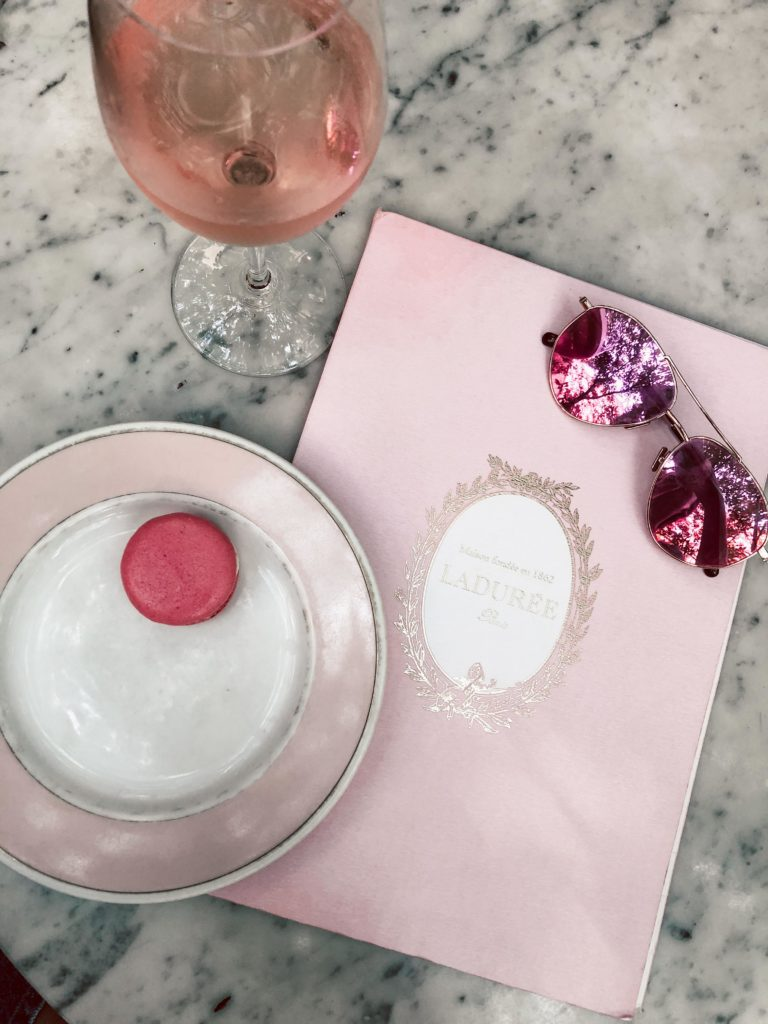Where to eat in NYC, Laudree with rose and rose macaroons