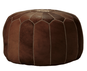 Serena and Lily Sale: Top Picks to Shop During the Fall Design Event featured by top Dallas lifestyle blogger, Running in Heels: Moroccan Leather Pouf