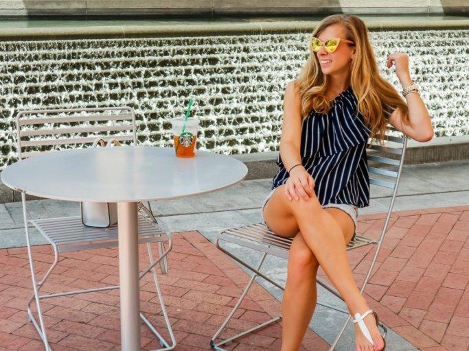 Zylina Wooden Sunglasses   Running in Heels