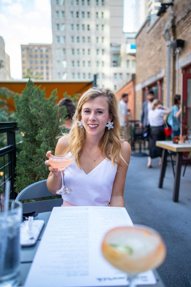 Best Rooftop Bars in Dallas featured by top Dallas blog, Running in Heels: The Woolworth