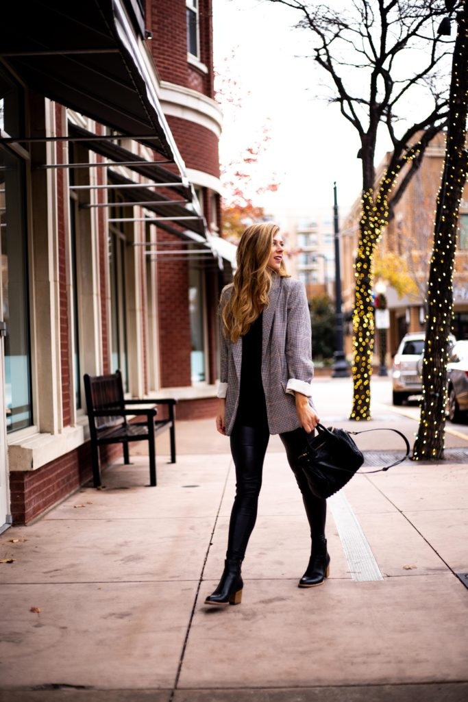 How to Dress Down A Blazer - Running In Heels
