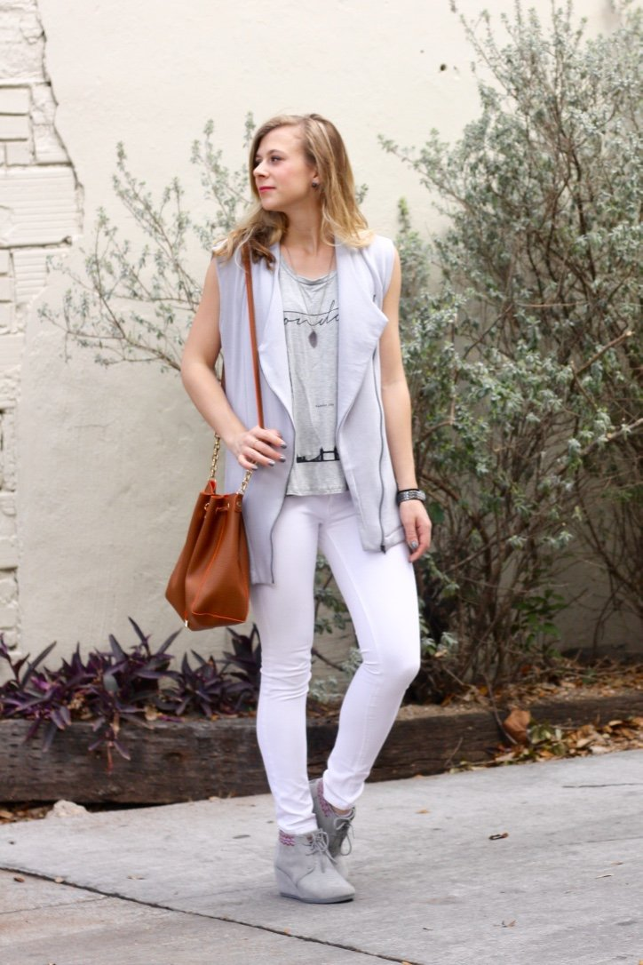 cool neutrals outfit