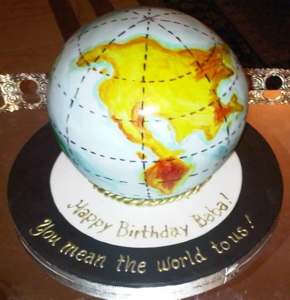My Dad's Birthday Cakes! Running In Heelz