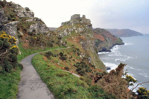 Heading towards the Valley of the Rocks