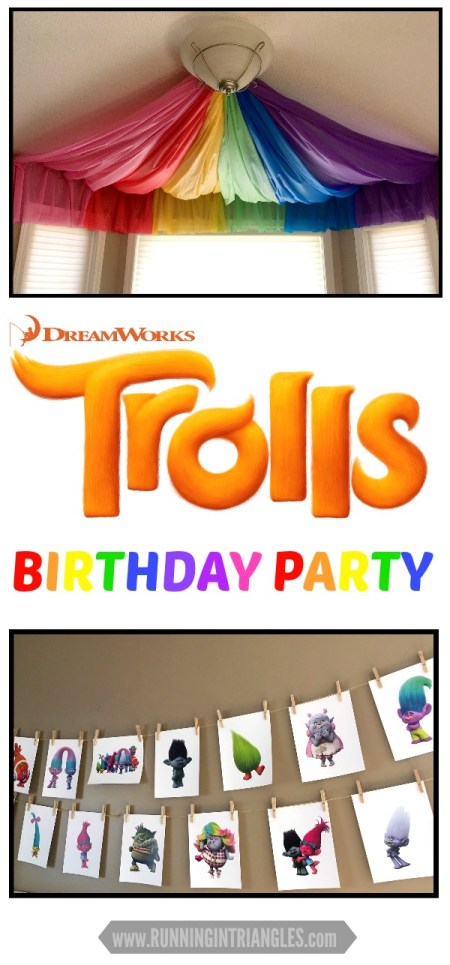 trolls party decorations