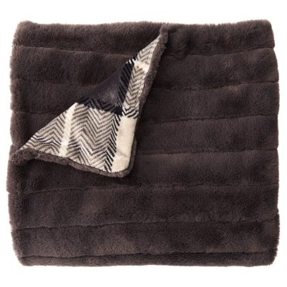 Chapters Indigo Faux Fur Throw