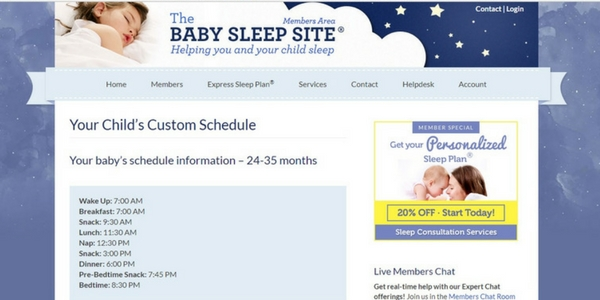 The Baby Sleep Site Review