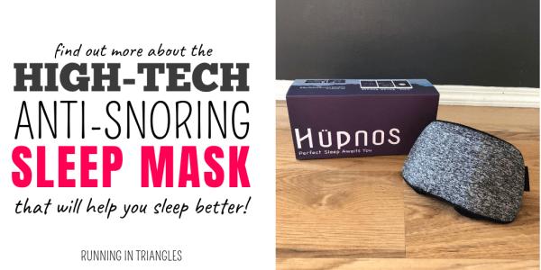 Hupnos, The High-Tech, Anti-Snoring Mask