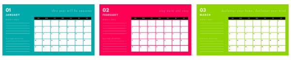 Free Mental Health Calendar