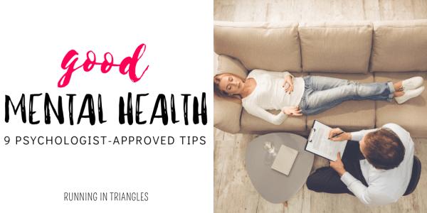 Good Mental health Tips
