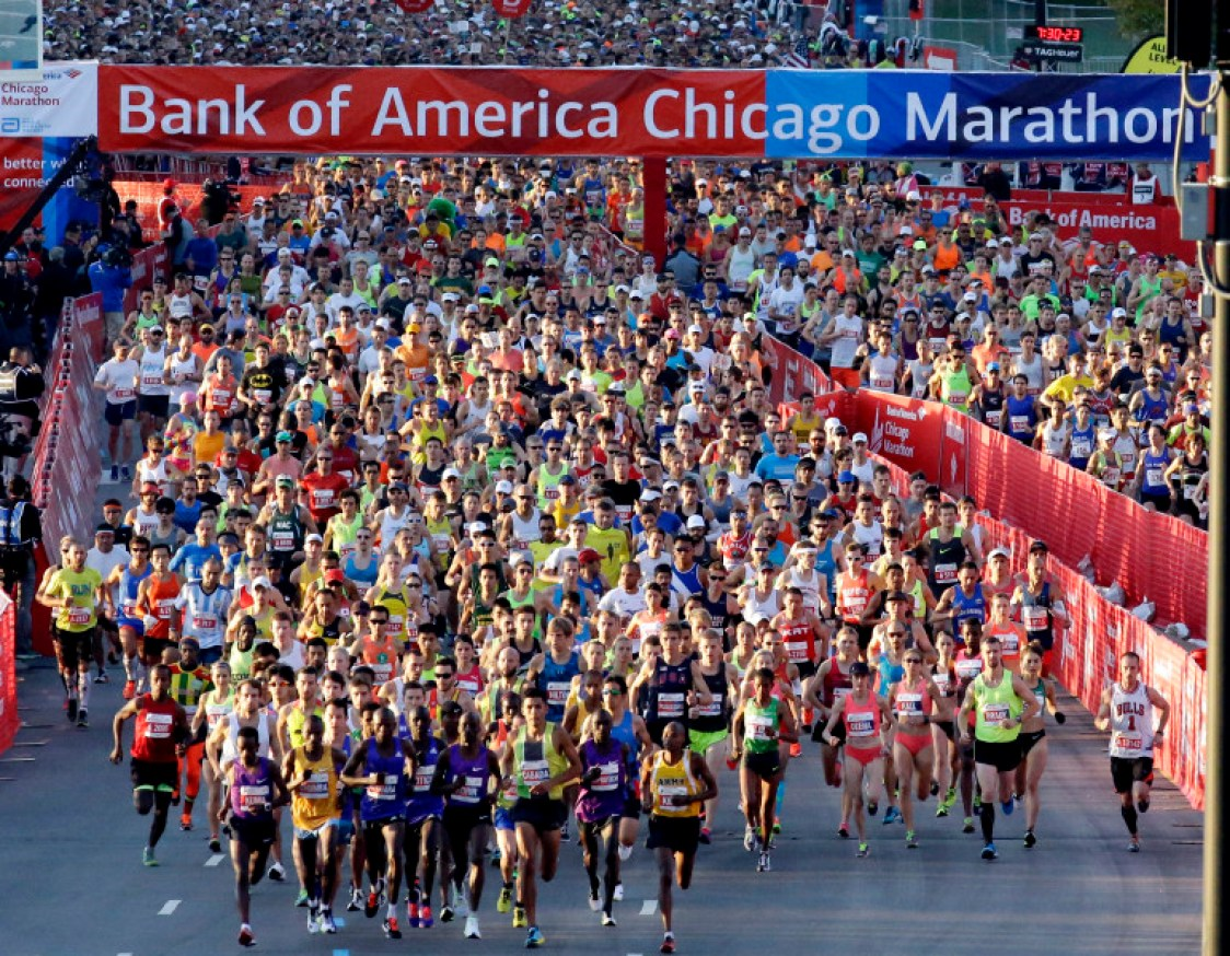 Photo Chicago Marathon 2015.