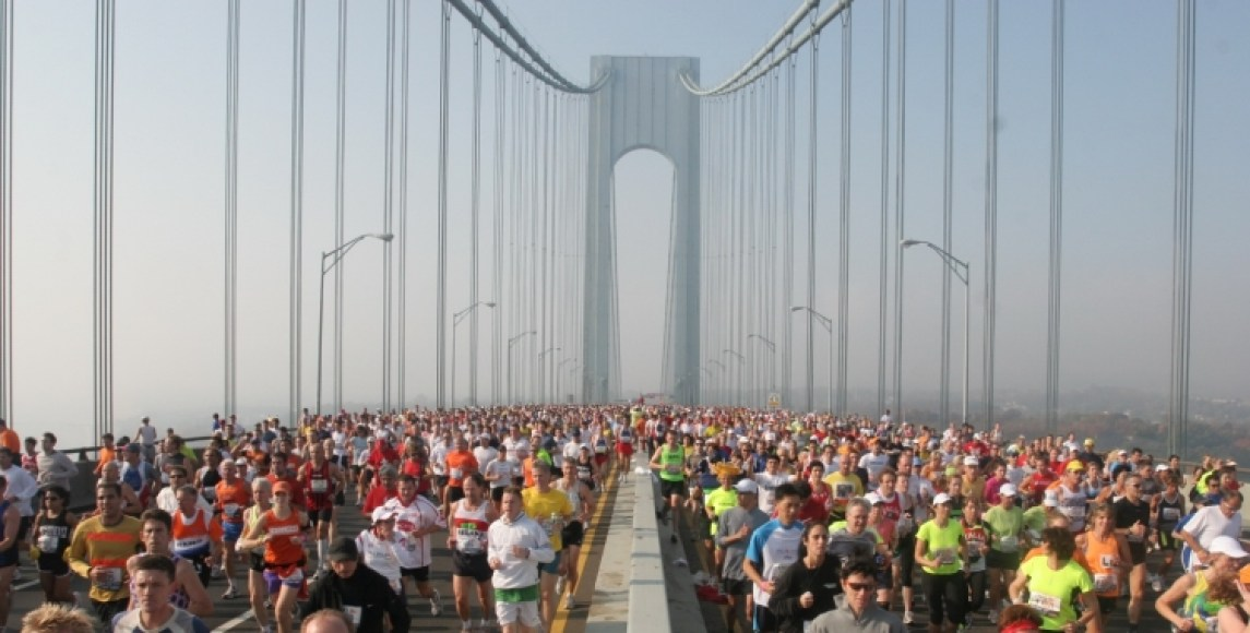 Maratón de New York City.