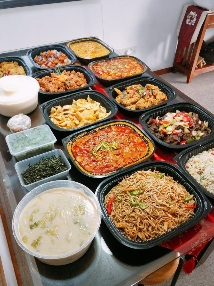 runningmen catering home buffet mini catering