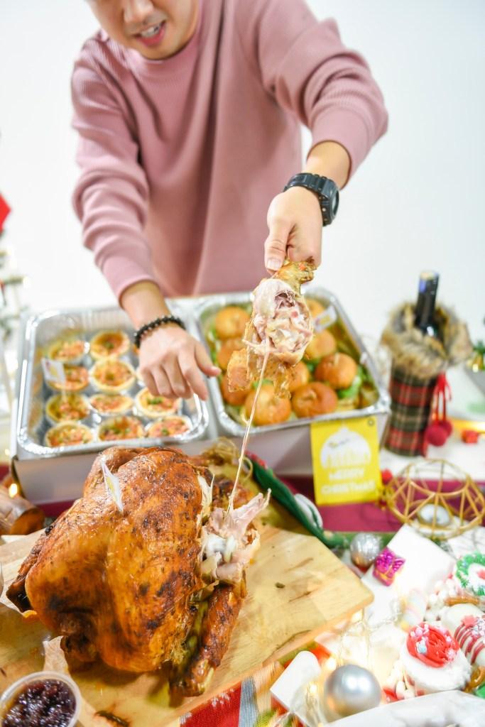 runningmen catering christmas 2020 turkey inside