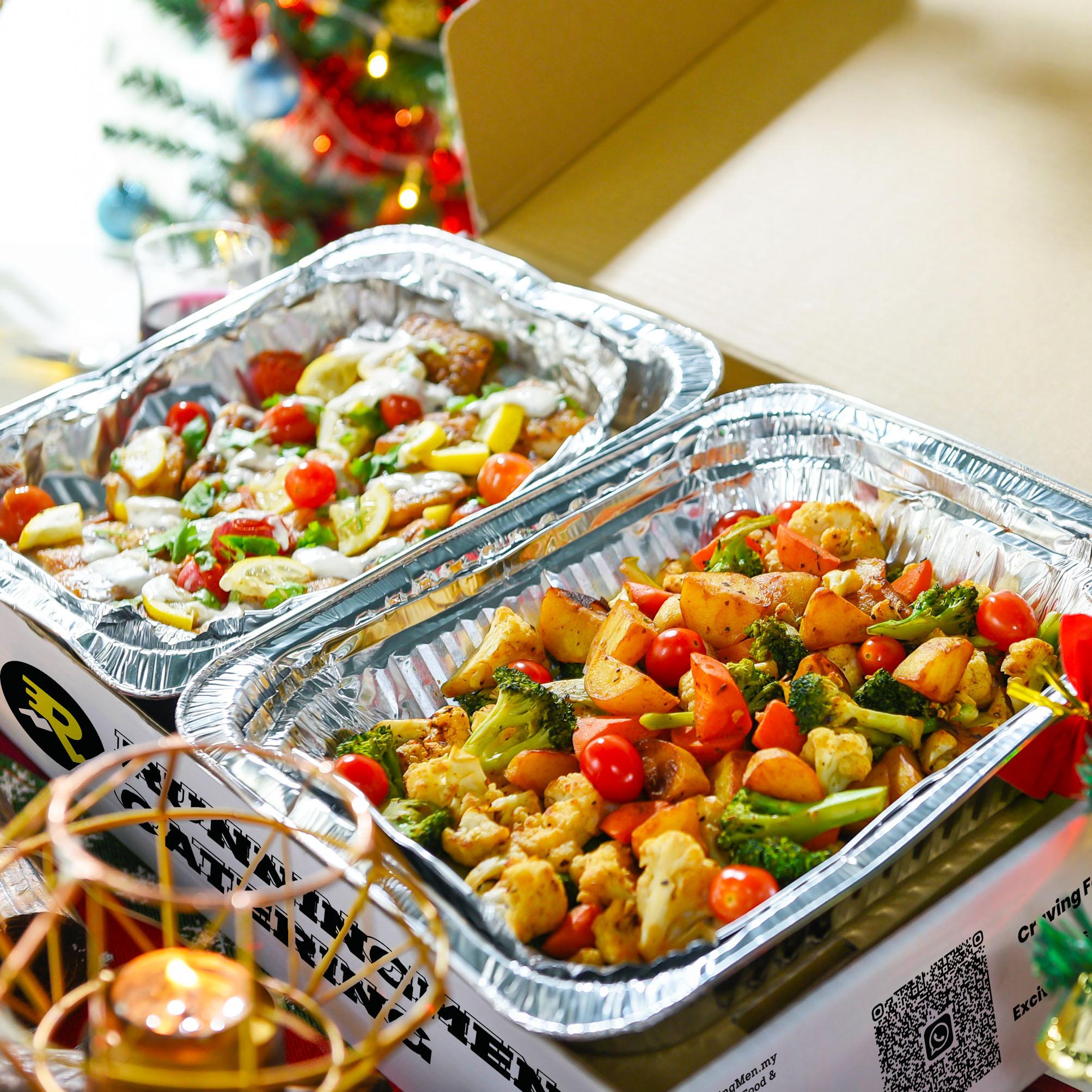 runningmen catering christmas 2020 mixed vegies and fruits