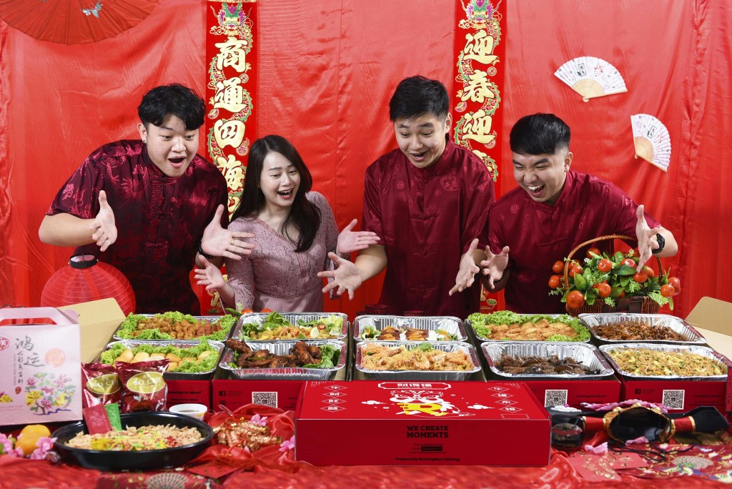 runningmen catering chinese new year traditional chinese catering for cny 2021