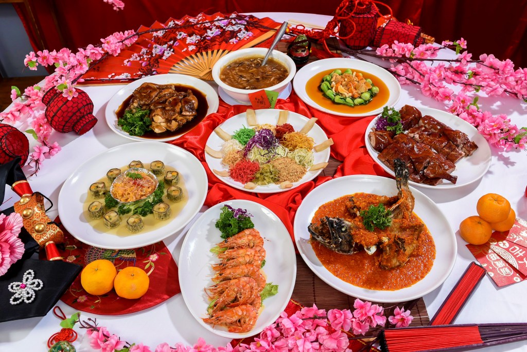 runningmen catering chinese new year reunion dinner cny 2021 feast meal all items