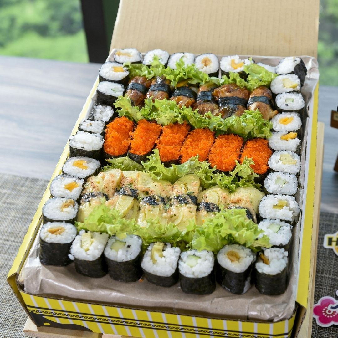 foodie box Small Sushi Box D