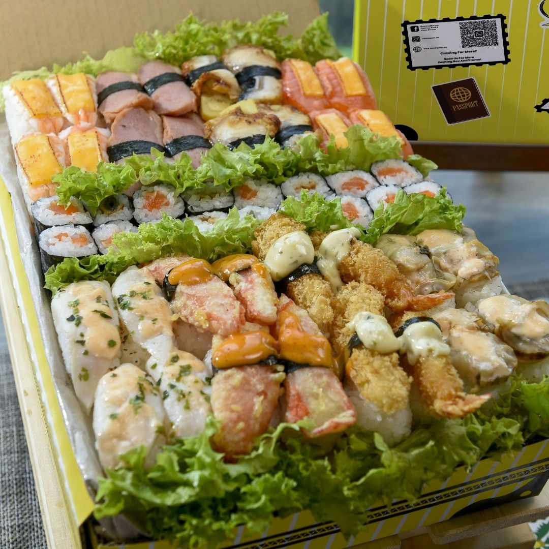 foodie box Big Premium Sushi Box
