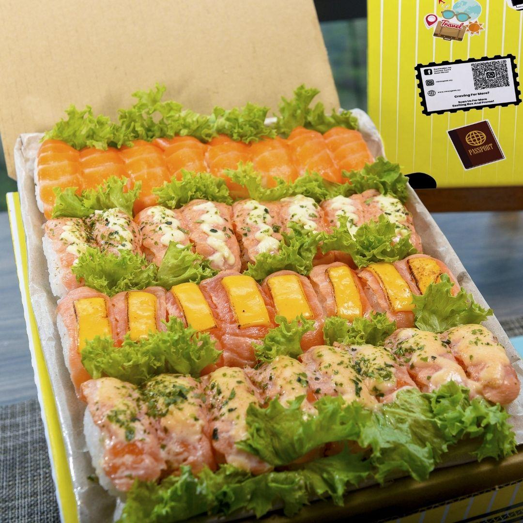 foodie box Small Premium Salmon Sushi Box