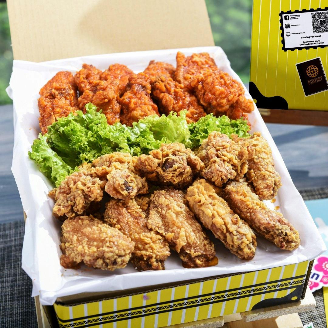 foodie box Korean Fried Chicken