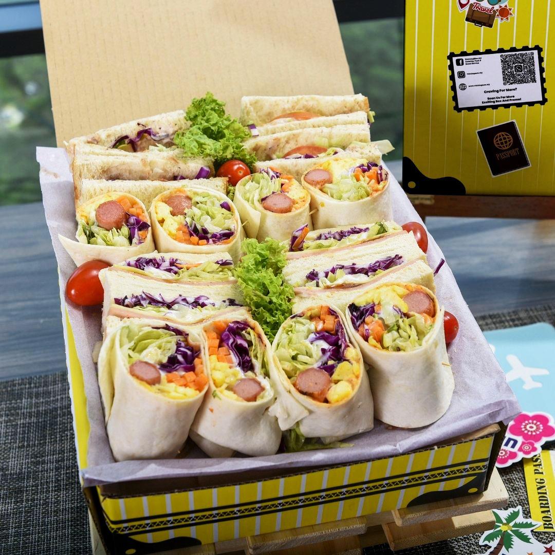 foodie box sandwiches
