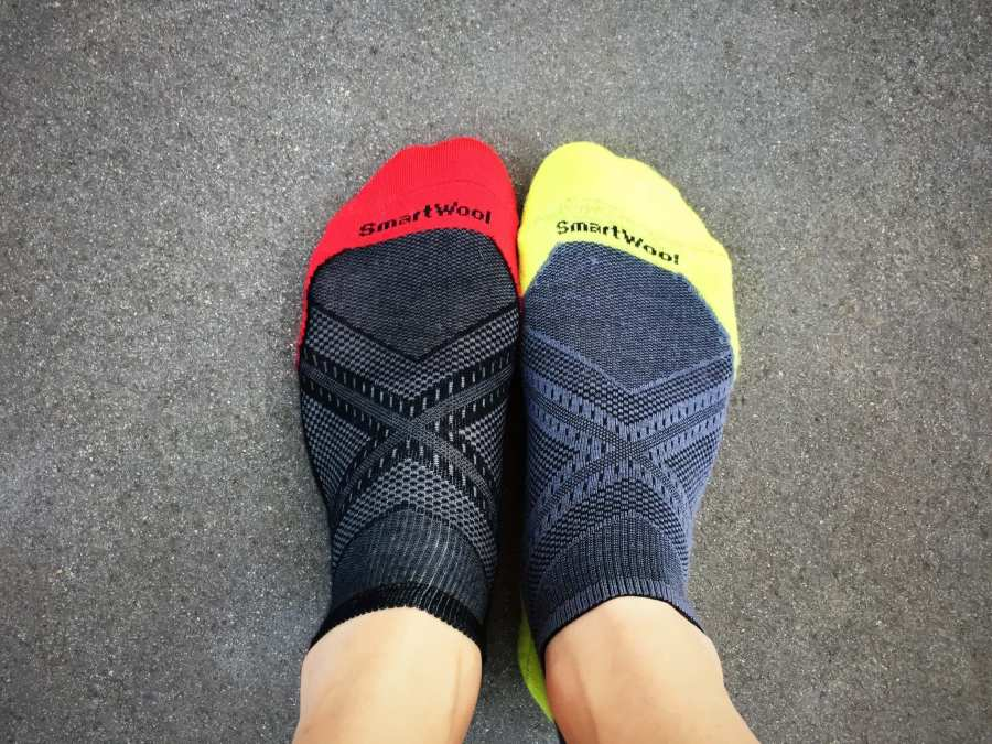 SmartWool PhD Ultra-Light and Light Socks - Top View