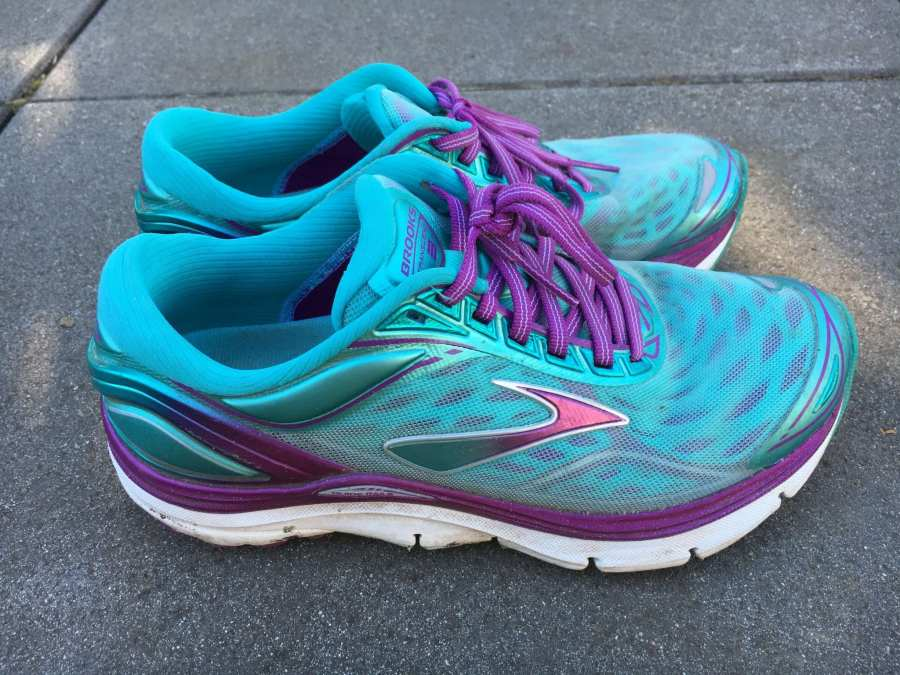 Brooks Transcend 3 Side