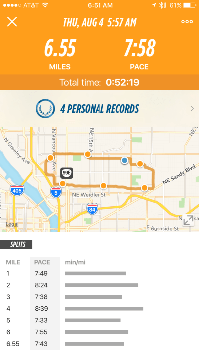 Lumo Run - App - Run Details 1