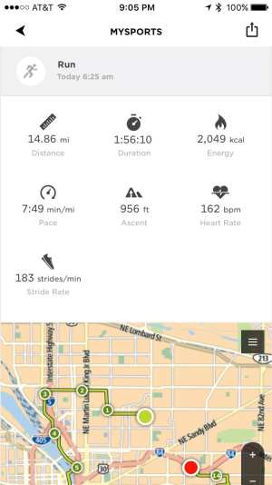 Tomtom Spark Cardio App1