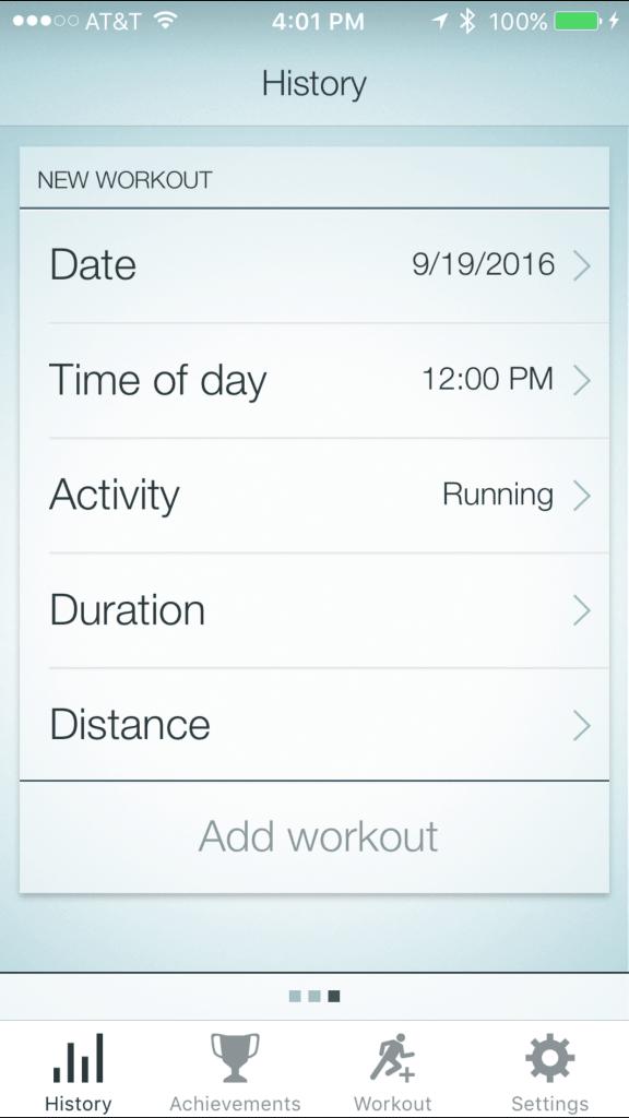 Jabra App - Workout