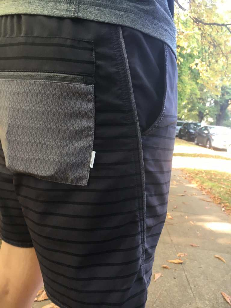 Vuori Apparel Trail Shorts Rear Pocket