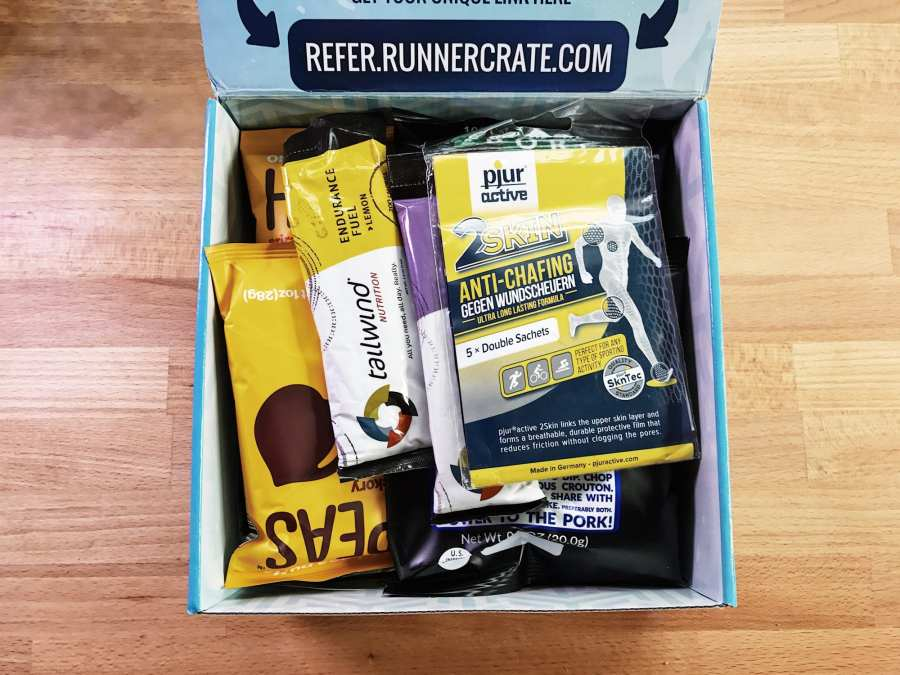 SubscriptionBox RunnerCrate BoxOpen