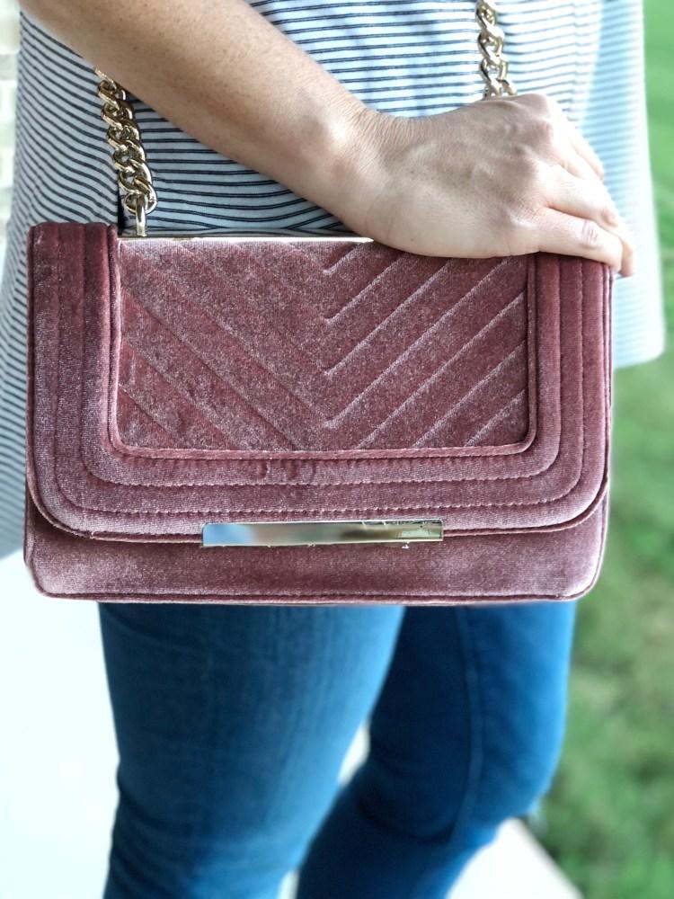 Velvet Trend, velvet accessories, fall trends